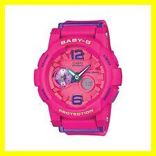 New Casio Baby-G BGA-180-4B3 G-LIDE Pink Tide Graph Moon Data Ana-Digital Watch