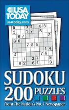 USA Today Sudoku 200 Number Puzzles New Book
