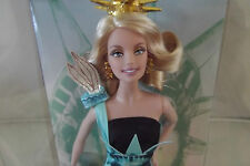 Dolls of the World Landmark Collection Statue of Liberty Barbie Doll