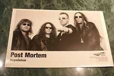 Post Mortem 4X8 1998 Promo Picture Mint Never Used Rare Htf Oop