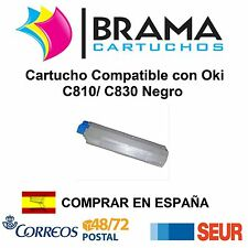 Cartucho Compatible Negro NonOem Oki C800 C810 dn C810 C830 dn C830 44059108