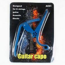 D27 New Quick Change Acoustic/ Electric Guitar Capo lightweight Blue
