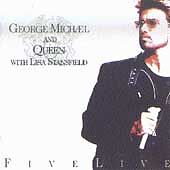 George Michael Cassette Queen Live Five Lisa Stansfield Freddie Mercury Tribute