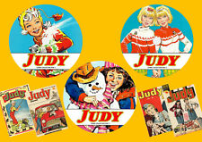 Judy UK Comics & Annuals On 3 DVD Rom's