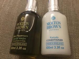 molton brown black peppercorn body wash 100ml And Kumudu Conditioner 100ml