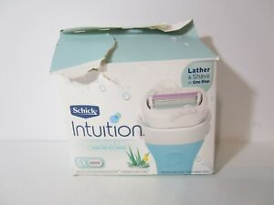 Schick Intuition Sensitive Care - 3x cartridges, *READ BELOW* FREE SHIPPING!