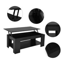 Home Furniture Lifting Top Coffee Table w/hidden storage compartment Shelf,2021