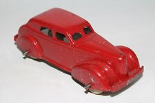 Tootsietoy 1940 LaSalle Sedan, Red, Original #7