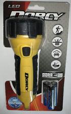 Dorcy LED Waterproof & Floating Flashlight, Yellow/Black 55 Lumen  Item 41-2510