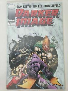 DARKER IMAGE #1 (1993) 1ST APPEARANCE DEATHBLOW! BLOODWULF! SAM KIETH MAXX CARD