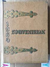 1964 The Souvenirian Robert Osborne High School Year Book Marietta Georgia