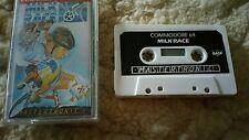 Milk Race Video Game Cassette Commodore 64 C64/C128 💜💜💜 FREE POST