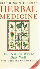 Herbal Medicine by Buchman Dian Dincin - Book - Hard Cover - Medical/Health