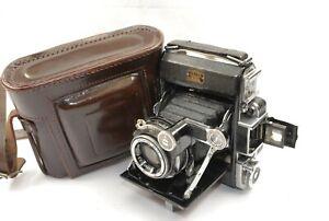 Zeiss Ikon Super Ikonta 531 CRF 7.5cm f3.5 Tessar lens 6x4.5 on120 VGC Case