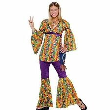 Forum Novelties Inc. 60s Hippie Purple Haze Adult Halloween Costume Size Standar