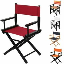 Directors Chair Canvas Seat And Back Replacement Outdoor Camping Garden Stool