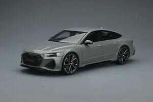 1:18 Audi RS 7 Sportback Nardo Grey GT823 GT SPIRIT Préorder Octobre 2021