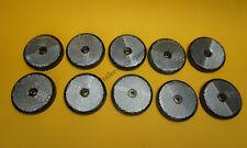 Free UK POST 10 x Clear Front Visser Rond 60 Mm réflecteurs-remorques Horse box