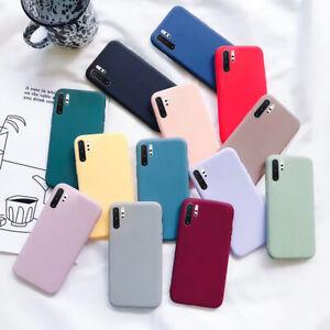For Samsung Galaxy Note 10 S10 A20E A70 A50 A40 Soft Gel Matte Skin Case Cover