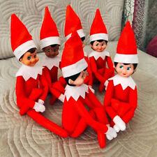 On The Shelf Figure Elf Magic Christmas Red Boy Toy Kids Plush Doll Xmas Gift