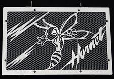 "cache / Grille de radiateur inox poli 600 Hornet 07>14 ""Frelon V2"" + grill. alu"