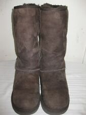 UGG Australia 5815 Classic Tall Sheepskin Chocolate Boots Women's Size 38 / 7