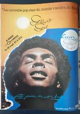 Publicité advert concert album advertising GILBERTO GIL 1981 PARIS