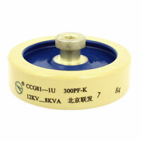 300pF 12KV 10% HV High Voltage Ceramic Doorknob Capacitor CCG81-1U