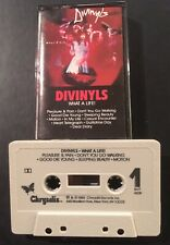 Divinyls What A Life TESTED VG+ Cassette 2nd Album 1985 Chyrsalis SynthPop Rock