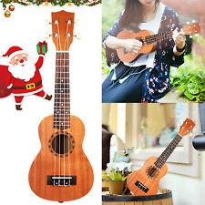 "21"" Concert Soprano Ukulele Hawaiian Guitar 15 Frets 4 String Musical Instrument"
