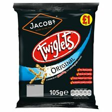Jacobs Twiglets Original Full Case X 12 Bags.Only £11.99