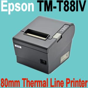 EPSON TM-T88IV-M129H 80MM THERMAL RECEIPT PRINTER (RS-232) - No Power Supply