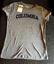 "Brand New Gray Woman's Colombia Short Sleeve T-shirt Size ""S"""