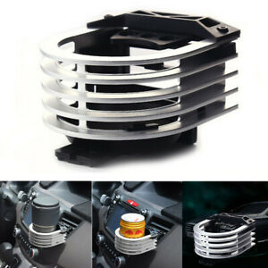 Car Aluminium Alloy Cup Holder Auto Air Outlet Drink Bracket Adapter Cup