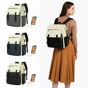 USB Charging Port Rucksack Multi Baby Diaper Backpack Mummy Changing Bag