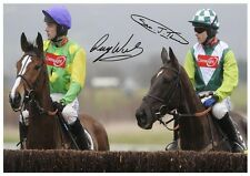 75 #  KAUTO STAR AND DENMAN  SIGNED  A4 PHOTOGRAPH REPRINT#++++++++++