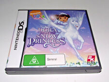 Dora Saves the Snow Princess Nintendo DS 2DS 3DS Game *Complete*