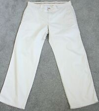 Mens Lacoste Chinos Stone Straight Leg 100% Cotton Trousers Pants 46 36W  30 IL