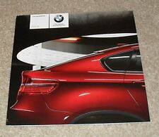 BMW X6 Price & Option Guide Brochure 2008 - xDrive 35i 30d 35d