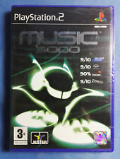 Music 3000 Recording Studio Music & Video Creation Sony PS2 New Factory Sealed