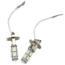 2pcs H3 100W CREE Super Bright LED White Fog Tail DRL Head Car Light Bulb 12V