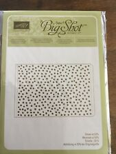 """Stampin' Up! """"Decorative Dots"""" Textured Impressions Embossing Folder"""