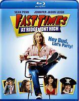 NEW BluRAY - FAST TIMES AT RIDGEMOUNT HIGH - Sean Penn, Jennifer Jason Leigh,