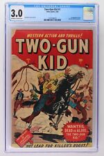 Two-Gun Kid #1 - Atlas 1948 CGC 3.0 1st Appearance & Origin of the Two-Gun Kid