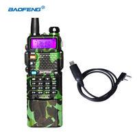 BaoFeng UV-5R Camouflage VHF/UHF Two way Radio 3800mah Li-ion 128 Channel +Cable