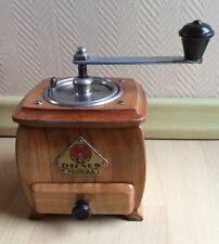 alte Kaffeemühle antik Kirschbaum Dienes 708 mill moulin a café coffee grinder