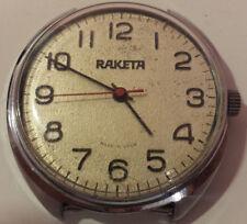 RAKETA ROCKET   WRISTWATCH  WATCH SOVIET RUSSIA RARE VINTAGE ANTIQUE  USSR