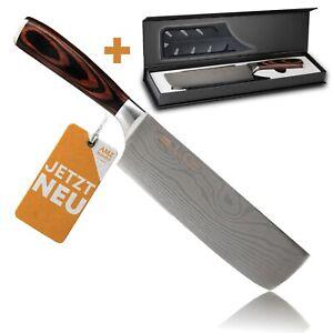 Hackmesser extrem scharf - besonders handlich dank Pakkaholz - Küchenmesser