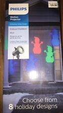 Philips Projector Rotating Holiday Designs LED Indoor Outdoor Light NEW.  A2
