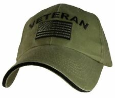Snapback Solid 100% Cotton Army Cap Hats for Men